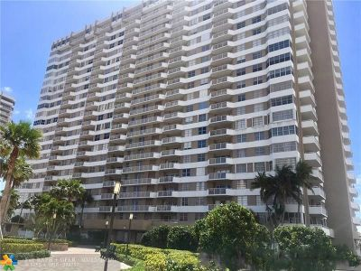 Hallandale Condo/Townhouse For Sale: 1985 S Ocean Dr #MF