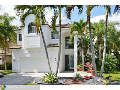 Coral Springs Single Family Home For Sale: 12149 Glenmore