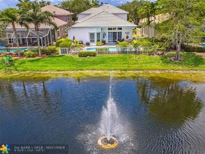 Coral Springs Single Family Home Backup Contract-Call LA: 5933 NW 126th Ter