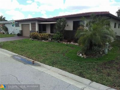 Margate Single Family Home For Sale: 1120 NW 74th Ave