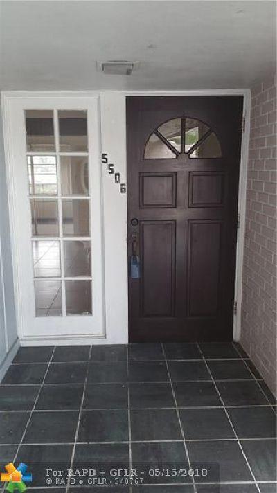 Tamarac Single Family Home For Sale: 5506 Guava Cir
