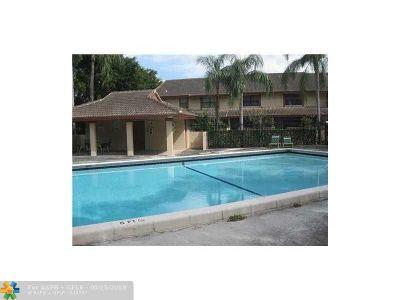 Coral Springs Rental For Rent: 9831 Riverside Dr #9831
