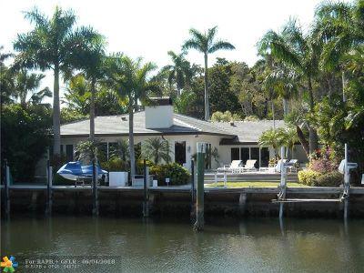 Fort Lauderdale Single Family Home For Sale: 58 Nurmi Dr