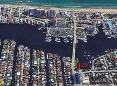 Fort Lauderdale Condo/Townhouse For Sale: 2500 E Las Olas Blvd #607