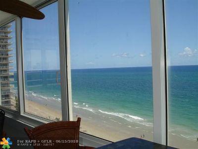 Rental For Rent: 4040 Galt Ocean Dr #918