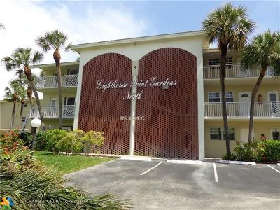 Lighthouse Point Condo/Townhouse For Sale: 1951 NE 39th St #156