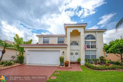 Sunrise Single Family Home For Sale: 13704 NW 23rd Ct