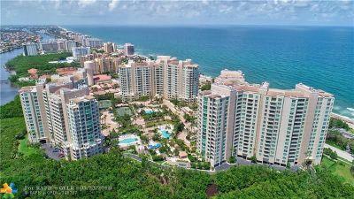 Highland Beach Condo/Townhouse For Sale: 3700 S Ocean Blvd #1010