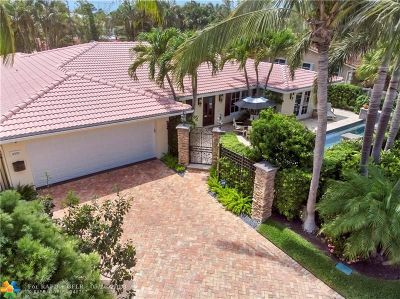Fort Lauderdale Single Family Home For Sale: 4321 NE 28 Ave