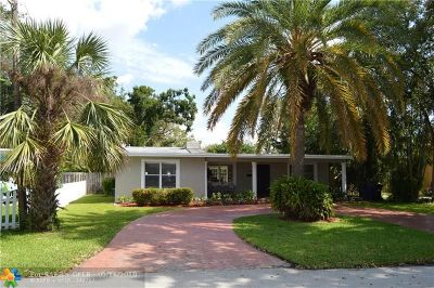 Fort Lauderdale Single Family Home For Sale: 1733 SW 13th Ct