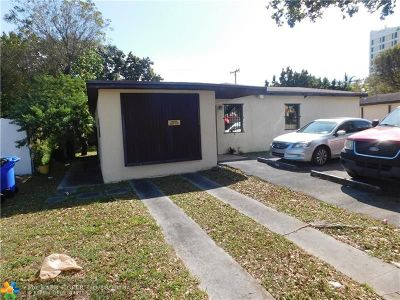 North Miami Beach Single Family Home For Sale: 16811 NE 6th Ave
