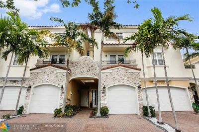 Fort Lauderdale FL Condo/Townhouse For Sale: $585,000