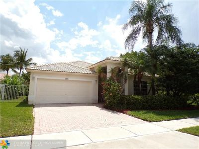 Pembroke Pines Single Family Home For Sale: 1967 NW 170th Terr