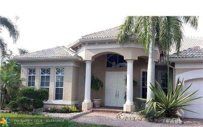 Davie Single Family Home For Sale: 3627 Amelia Island Ln