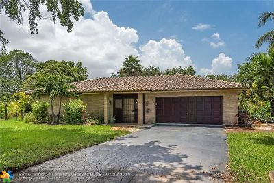 Coral Springs Single Family Home For Sale: 9661 NW 36th Pl