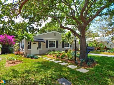 Fort Lauderdale Single Family Home For Sale: 610 SW 19th St
