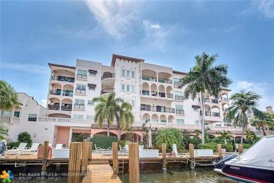 Fort Lauderdale Condo/Townhouse For Sale: 25 Hendricks Isle #504