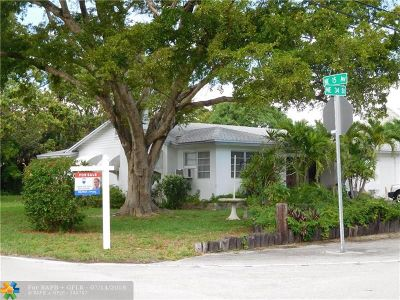 Broward County Single Family Home For Sale: 1501 NE 34th St