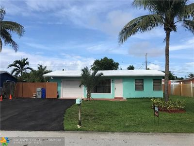 Pompano Beach Single Family Home For Sale: 2750 NE 10th Ter