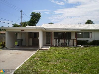 Pompano Beach Single Family Home For Sale: 550 SE 2nd Ave