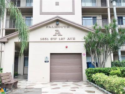 Pembroke Pines Condo/Townhouse Backup Contract-Call LA: 1651 SW 127th Ave #212A