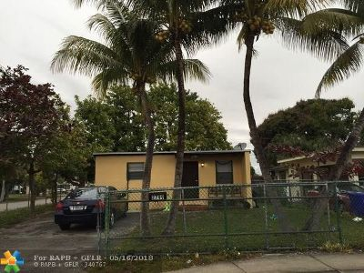 Fort Lauderdale Single Family Home For Sale: 2799 NW 7th St