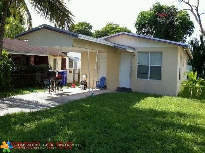 Fort Lauderdale Single Family Home For Sale: 2880 NW 12th Ct