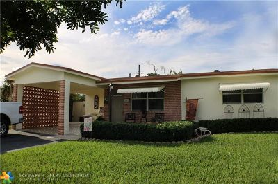 Pompano Beach Single Family Home For Sale: 181 NE 26th St