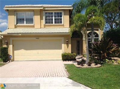 Boca Raton Single Family Home For Sale: 18021 Rhumba Way