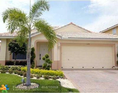 Coral Springs Single Family Home For Sale: 5574 NW 124th Ave