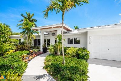 Fort Lauderdale Single Family Home For Sale: 2740 NE 29th Ct