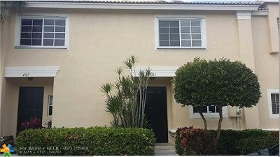 Coconut Creek Rental For Rent: 4763 NW 57th Pl #4763