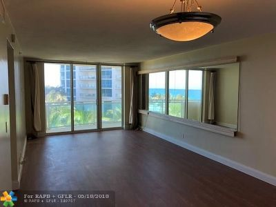 Broward County Condo/Townhouse For Sale: 3001 S Ocean Dr #523