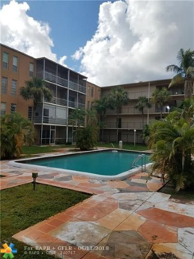 Lauderdale Lakes Condo/Townhouse For Sale: 4848 NW 24th Ct #103