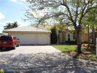 Coral Springs Rental For Rent: 5069 NW 124th Way