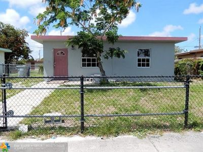Pompano Beach Single Family Home For Sale: 2767 NW 4th Ct