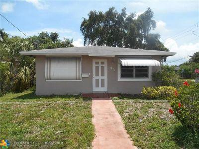 Dania Beach Single Family Home For Sale: 45 SW 7th Ave