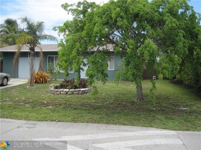 Pompano Beach Single Family Home For Sale: 3060 NE 10th Ter