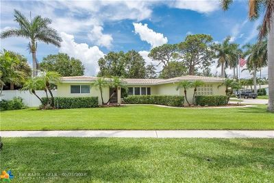 Fort Lauderdale Single Family Home For Sale: 1420 NE 60th St