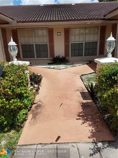 Coral Springs Rental For Rent: 11441 NW 38th St