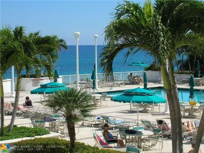 Lauderdale By The Sea Condo/Townhouse For Sale: 1620 S Ocean Bl #14L