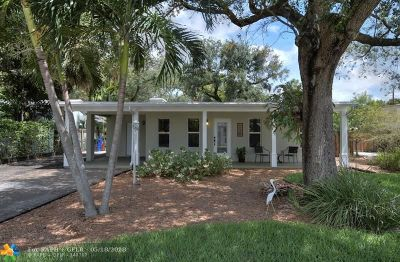 Fort Lauderdale Single Family Home For Sale: 1801 SW 14th Ct