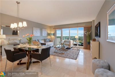 Fort Lauderdale Condo/Townhouse For Sale: 340 Sunset Dr #904
