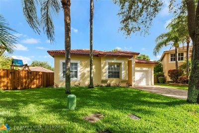 Coral Springs Single Family Home For Sale: 4050 NW 61st Way