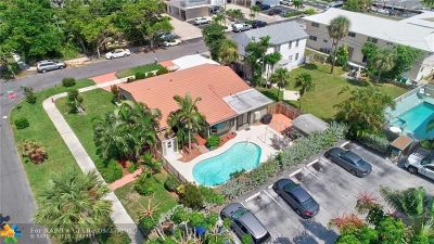 Pompano Beach Single Family Home For Sale: 1602 N Riverside Dr