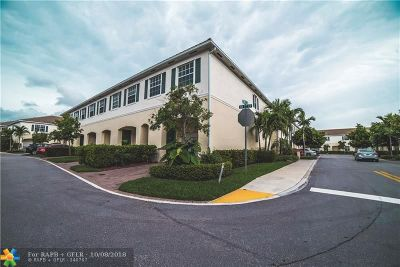 Pompano Beach Condo/Townhouse For Sale: 151 SW 7th Ct #151