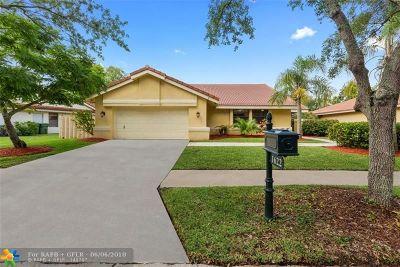 Weston Single Family Home Backup Contract-Call LA: 1622 Newport Lane