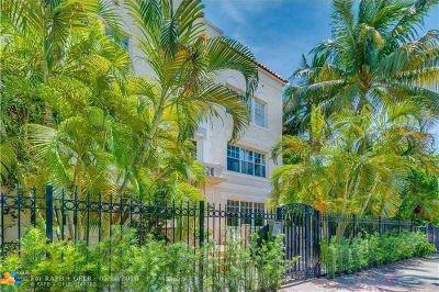 Miami Beach Condo/Townhouse For Sale: 1611 Michigan Ave #2