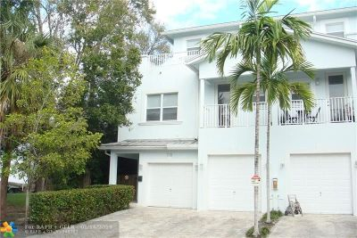 Fort Lauderdale Condo/Townhouse For Sale: 710 SW 9 Terrace #710