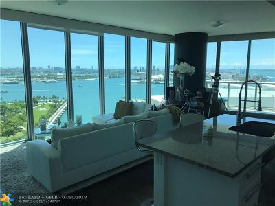Miami Condo/Townhouse For Sale: 888 Biscayne Blvd #2108